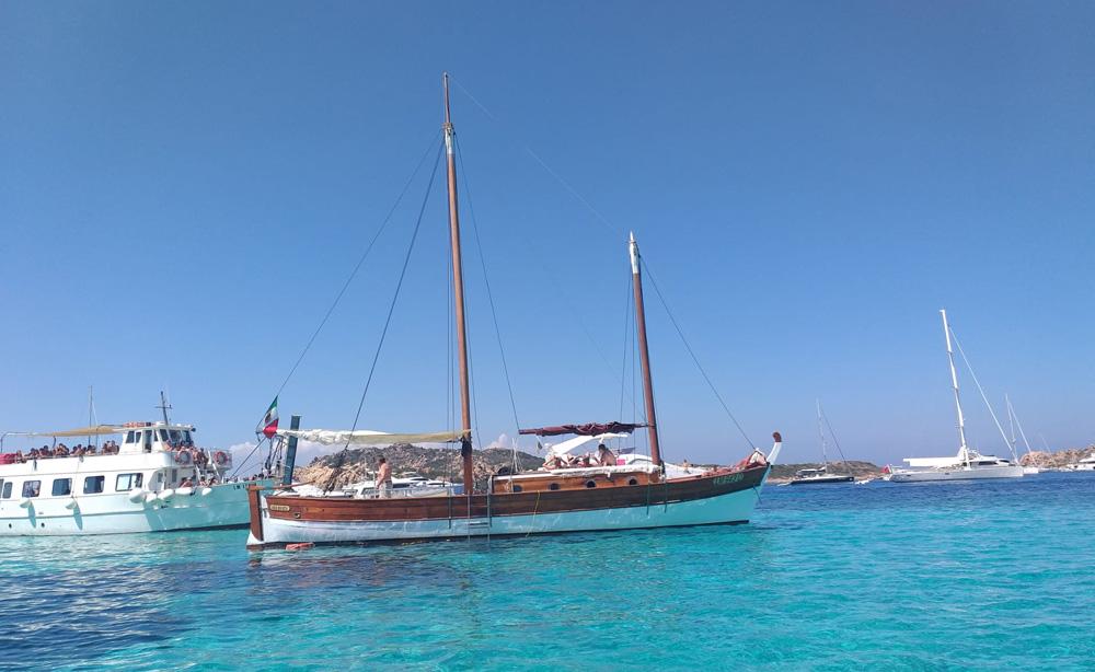 gite in barca a La Maddalena